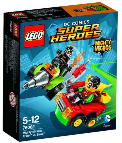 LEGO  DC Super Heroes 76062 Mighty Micros: Robin  vs. Bane