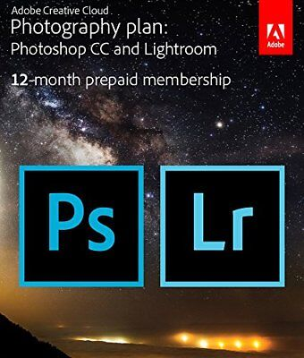 Adobe Creative Cloud Photography Plan With 20Gb Storage   1 Year Subscription  K