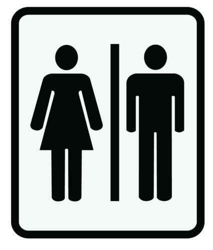 Mens Bathroom Sign Ebay