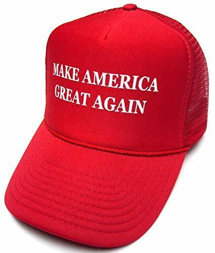 Make America Great Again MAGA Hat Donald Trump 2016 Trucker Red Cap w/Mesh Back