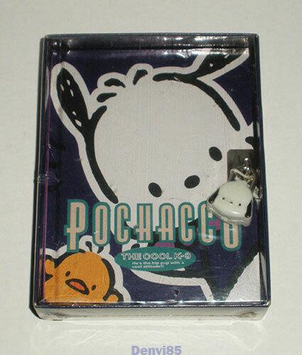"VINTAGE! 1996 Sanrio POCHACCO ""The Cool K-9"" Locking Diary! NEW in Box!"