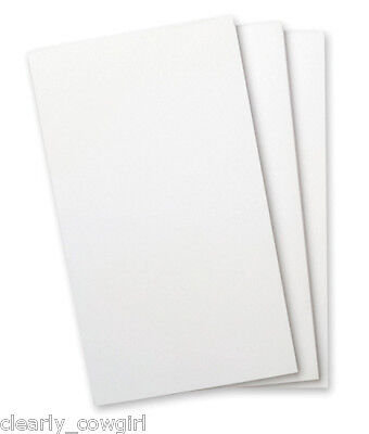8273 - Wellspring Flip Note Pad Refill Plain White Paper No Lines 3 Pads