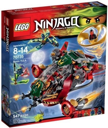 LEGO 70735 Ninjago Ronin R.E.X. - Brand New Sealed Box - Retired Set!!