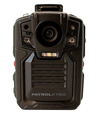 PatrolEyes HD 1080P GPS Infrared Night Vision Police Body Camera Recorder 16GB