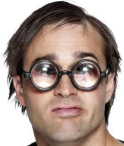 Big Eyes Glasses Funny