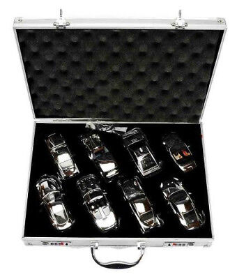 James bond corgi exclusive and limited edtion metal attache case (incl. lock)