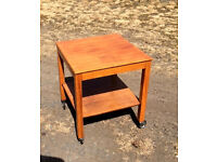 PINE TROLLY TABLE