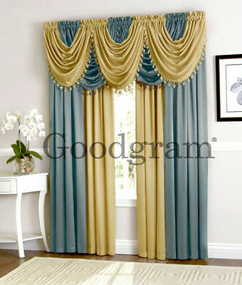 Ultra Luxurious Hyatt Window Curtain & Valance Treatments
