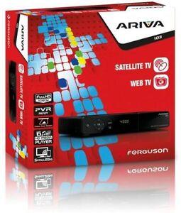 FERGUSON ARIVA 103 HD RECEIVER FREESAT, SMART HD, CYFRA+, NC+ NEW