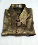Mens Gold Shirt