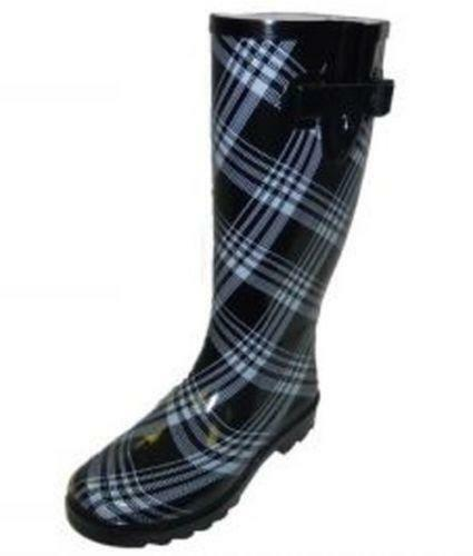 New Chooka Signature Plaid Rain Boot Women  Nordstrom
