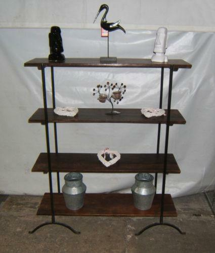 Wrought Iron Shelf Unit Ebay