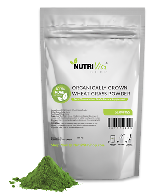 2.2 lb (1000g) 100% PURE WHEAT GRASS POWDER USDA CERTIFIED ORGANIC - SUPERFOOD