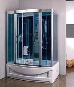 NEW WHIRLPOOL JACUZZI STEAM SHOWER BATH LED MULTI FUNCTION