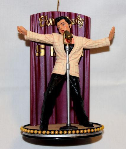 Elvis Christmas Ornaments