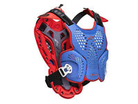 New M-L Adult Alpinestars A1 Roost Guard Body Armour MX Of Nations Blu/Red/White