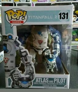 Funko pop atlas and pilot ( Titanfall 2 )