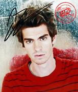 Andrew Garfield Signed