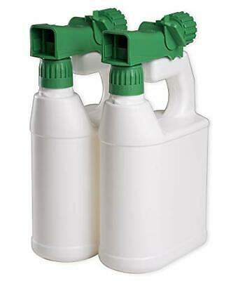 Refillable Sprayer Multipurpose Hose End Bottles Garden Spray 32oz Pack of 2