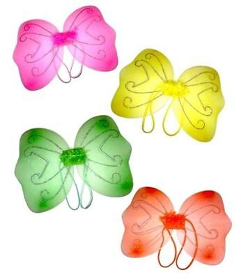 Real Fairy Costumes (Beautiful Glittery Fairy Wings for Real Princess Kids /)
