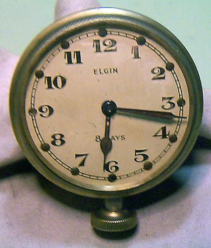Elgin 8 Day Clock Ebay