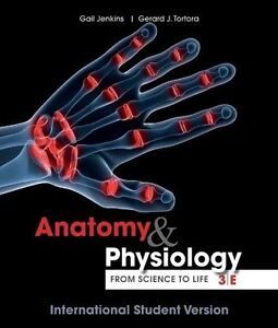 Anatomy and Physiology: From Science to Life 3e + WileyPLUS Registration Card