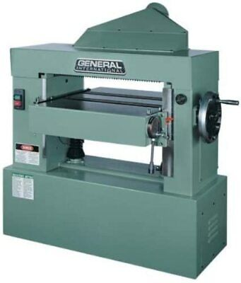 General International 24-inch Single Surface Planer Helical Cutterhead 10 Hp