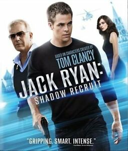 Jack Ryan Shadow Recruit (blu-ray)