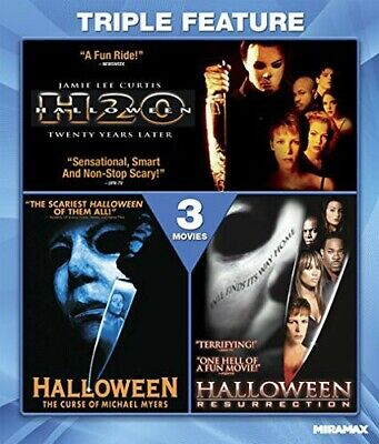 Halloween 7 H20 / 6: Curse of Michael Myers / 8: Resurrection BLU-RAY NEW](Halloween 7 Resurrection)