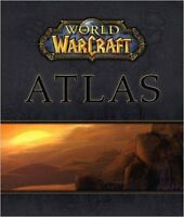 World Of Warcraft Atlas(BOOK) and 3 Strategy Guides.