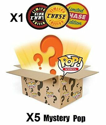 Funko POP! Mystery 6 Pack w/ 1 Random Limited Edition CHASE - Vinyl Figure set