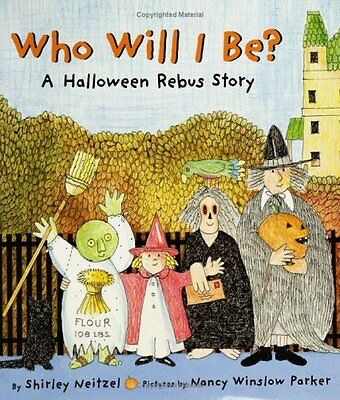 Who Will I Be?: A Halloween Rebus Story - Halloween Rebus