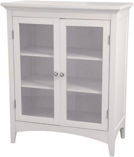 White Kitchen Cabinets Ebay: White Floor Cabinet