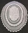 White Antique Lace & Crochet Tablecloths