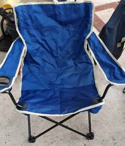 2 x DMH folding camping chairs