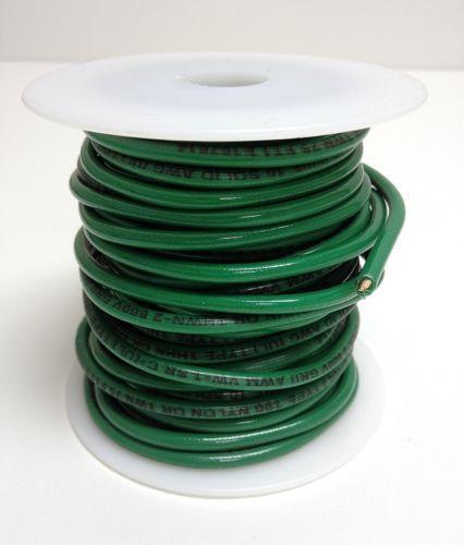 Speaker Wire Gauge >> Green Ground Wire   eBay