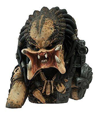 Diamond Select Toys Predator  Unmasked Vinyl Bust Bank Statue