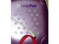 Leapad and hard zipped lilac purple case