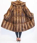 Musquash Real Fur Coat