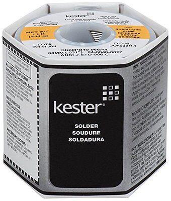 Kester Solder - 44 Rosin Core Solder6040.0311lb. Spool New Free Shipping