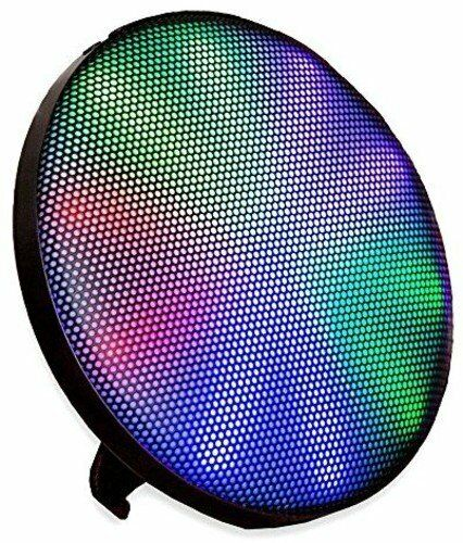 Wall-Mounting Wireless Bluetooth Stereo Speaker Multicolor LED & 15 Light Modes