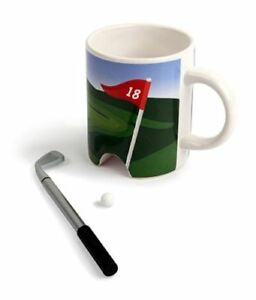 NEW IN BOX FineLife Products Golf Mug & Pen Set