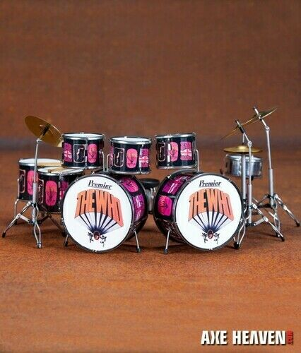 Keith Moon - Keith Moon The Who Pictures Of Lily Premier Mini Drum Kit Replica C