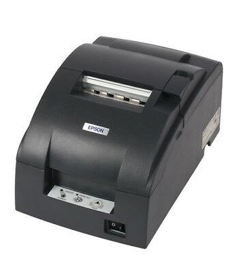 Epson Tm-u220b Pn Ethernet Kitchen Printer Gray