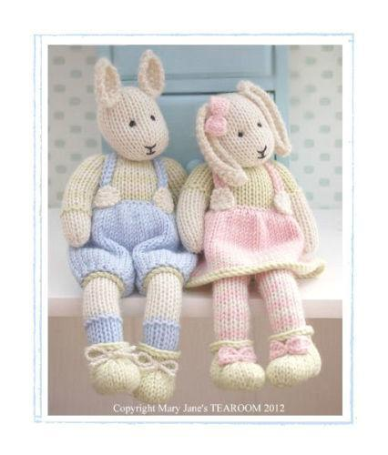 Bunny Knitting Pattern Ebay