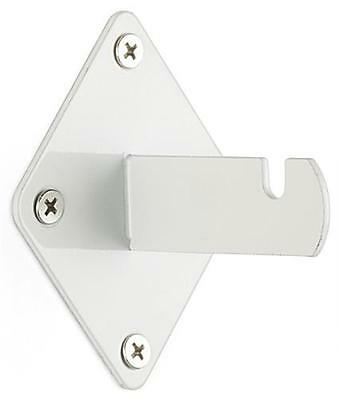 White Gridwall Wallmount Brackets 25pcs