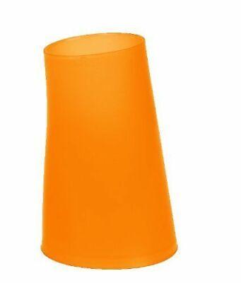 Orange Zahnbürstenhalter (Spirella Move Frosty Orange Zahnbecher Becher Zahnputzbecher Zahnbürstenhalter )