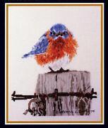 Bluebird Cross Stitch