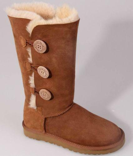 Uggs With Buttons On Side