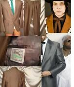 Vintage Sharkskin Suit
